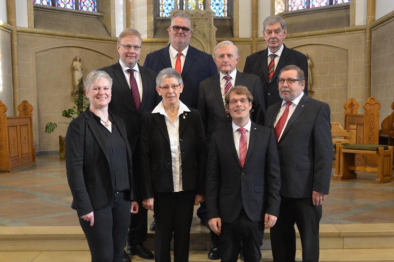 Barbara Mülder, Hermann Hermeling, Gisela Wilken, Dieter Stein, Hermann Tegeder, Andreas Möller, Gerd Ricken, Paul Henkel