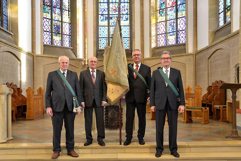 Heinz Mense, Bernhard Wewel, Karl Elfert und Robert Oldeweme Es fehlt: Willi Kaiser
