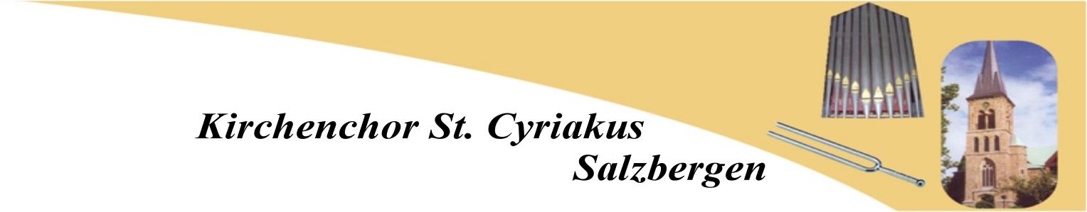 Kirchenchor St. Cyriakus Salzbergen